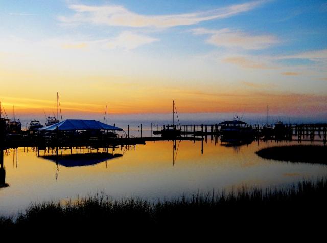 Sunrise, St. Augustine ⓒ Bearspawprint 2014