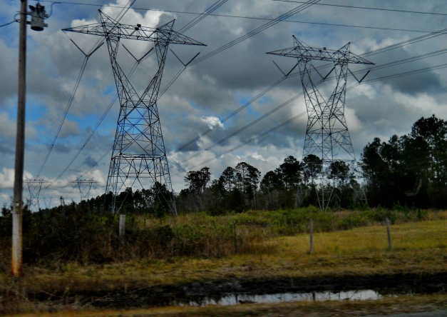 Power Lines -- Not Ley Lines ⓒBearspawprint2014