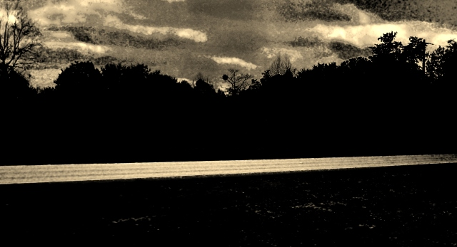 Sepia Afternoon on North Florida Highway  ⓒBearspawprint2015 2.10.2015