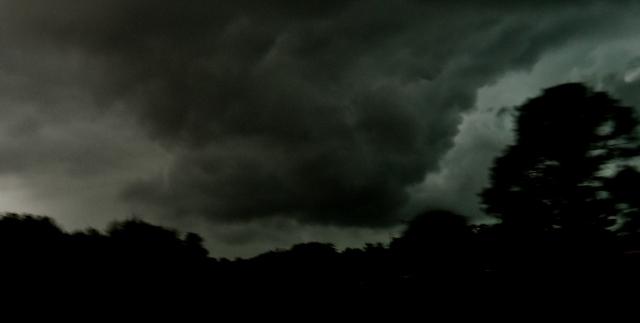 Tornado Watch on I 10 East of Tallahassee  ...   ⓒBearspawprint2015  04.19.2015