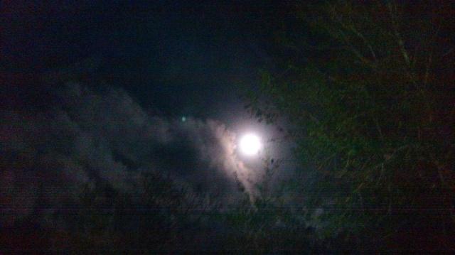Moon October 5, 2017 ⓒBearspawprint2017